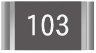 Chip resistor 103