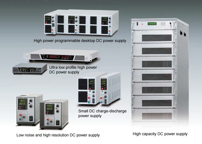 our various DC Power Supplies