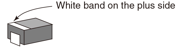 White band on the plus side