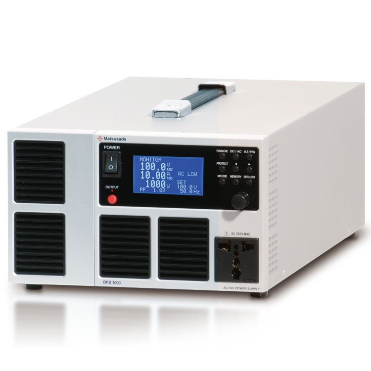 DRS series | AC power source Benchtop | Matsusada Precision