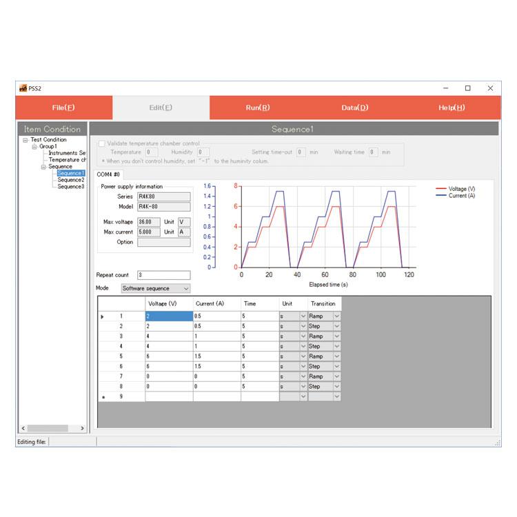 PSS2 series   Control software   Matsusada Precision
