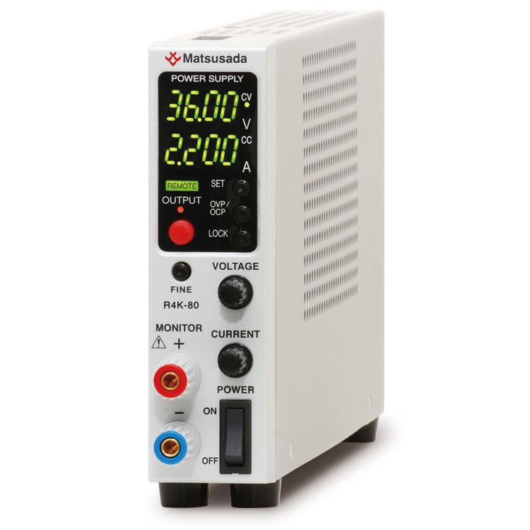 R4K-80 series | DC power supply Benchtop | Matsusada Precision