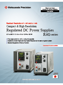 R4G series Datasheet