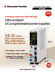 RK-80 series Datasheet