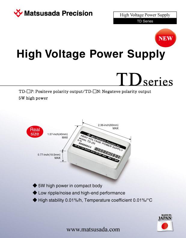TD series Datasheet