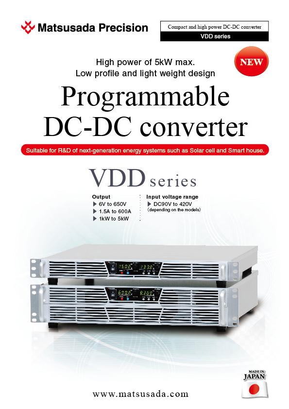 VDD series Datasheet