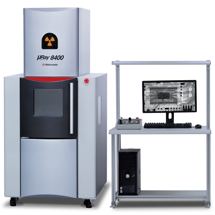 µRay8400 series | X-ray Inspection System (Vertical Model) | Matsusada Precision