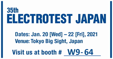35th ELECTROTEST JAPAN